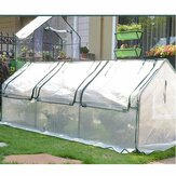 Waterproof Warm Garden Greenhouse Cover Protects 3 Grids Full Package Plants