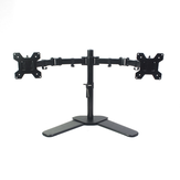 MS01 Dual-screen Display Stand Desktop Freely Lifting Rotating Rack Dual Monitor Bracket Arms 360 Degrees Rotating Stand for Office