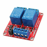 3Pcs 24V 2 Channel Level Trigger Optocoupler Relay Module Power Supply Module Geekcreit for Arduino - products that work with official Arduino boards