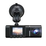 1080P Car DVR Dual Lens Front & Inside Dash Cam 170° G-sensor IR Night Vision HD Camera Recorder