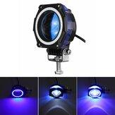 35W 3-calowe oświetlenie robocze LED Strąki do jazdy przeciwmgielnej Offroad Driving Blue