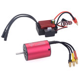 Surpass Hobby 2838 RC Car Motor 3600KV+35A Waterproof ESC For 1/12/16 2-3s Drift Buggy RC Models