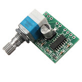 Mini PAM8403 3Wx2 5V Dual Channel USB Power Audio Amplifier Board Controle de volume