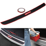 Car Rear Trunk Sill Bumper Guard Protector Rubber Pad Cover Strip