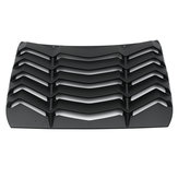 Black Rear Car Window Sunshade Curtain Windshield Louvers Cover For Honda Civic 16-17