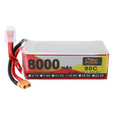 ZOP Power 14.8V 8000mAh 90C 4S Lipo Batterie XT60 Stecker für RC Racing Drone