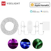 Yeelight YLDD05YL 1S 2M ذكي التطبيق RGB LED Strip ضوء العمل مع Homekit ذكيThings + US Plug (Xiaomi Ecosystem المنتج)