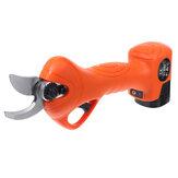 16.8V 2000mAh 600W Электрические ножницы для обрезки веток Cordless Branch Grafting Scissor Инструмент w / 2 Батарея