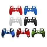 Capa protetora de silicone PS5 Wireless Gamepad Capa PS5 Game Controller Capa protetora antiderrapante Caso