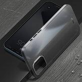 İPhone 12 için Baseus Pro 6.1 inç Kılıf Mat 0.4mm Ultra İnce PP Çizilmez Anti-Parmak İzi Saydam Protective Kılıf