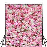 5x7FT Wesele Rose Kwiaty Fotografia Tło Studio Prop Tło
