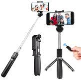 OLDRIVER L01 Trépied Selfie Stick Télécommande Bluetooth pour Smartphones 3,5-6,2