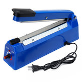 220V 50/60HZ 8 Gear Hand Pressure Plastic Sealer Heat Sealer Machine Bag Heat Sealer Capper