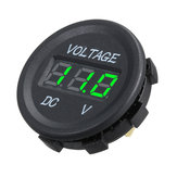 DC 12 V LED Panel Digital Voltmeter Display Voltmeter Für Auto Motorrad Boot