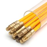10 stk 1Mx3mm glasfiberkabelspoler Running Cable Wire Kit Coaxial Electrical Cable Installationsstang