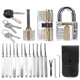 Unlocking Locksmith Practice Lock Pick Key Extractor Padlock Lockpick Tool Kits