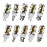 B22 E14 E27 G9 GU10 9W 112 SMD 2835 LED Cover Corn White Warm White Lamp Bulb Non-Dimmable AC220V