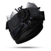 KadınVintageEtnikStilHintTarafı Çiçek Türban Şapkası