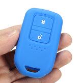 Silicona 2 botones Smart Keyless Control remoto Key Caso Fob Cover Holder para Honda CRV FIT XRV CRIDER VEZEL JADE