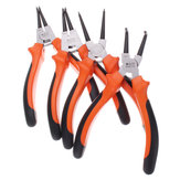 7 Inch 25mm CR-V Circlip Snap Ring Pliers Internal External Straight Bent Type Tool