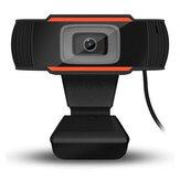HD Web Kamerası Otomatik Odaklama PC Web USB Kamera Mikrofon ile Video Konferans Kameraları