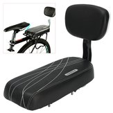 BIKIGHT Sort Bicycle Comfort Gel Bike Seat Pad Cushion Cover Back Rest 13'' Wide Saddle