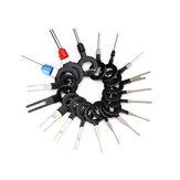 21 Adet / takım Terminal Kaldırma Elektrik Kablolama Kıvrım Konektör Pin Extractor Kit Otomobiller Terminali Onarım Parçalar
