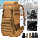 70L Outdoor Waterproof Military Tactical Backpack Camping Hiking Backpack Trekking Camouflage Travel Shoulder Backpack