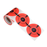 125pcs / Roll Round Adhesive Shooting Target 3 Inch Splatter Paper Wall Sticker