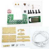 Zestaw elektroniczny DIY Akumulator stereofoniczne radio cyfrowe FM DIY części