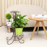 3 Camada Jardim Plantador Stand Flor Pot Plant Display Prateleira Varanda Casa Decorações
