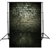 3x5ft Escuro Nublado Pedra Tijolo Tema Fotografia Vinil Fundo Pano de Fundo para Estúdio 0.9x1.5 m