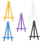 Colorful Plastic Tripod Easel Display Painting Stand Card Paintings Holder Wedding Party