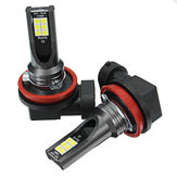 2Pcs Car LED Fog Lights Brake Turn signal Lamp Bulb H1 H4 H7 H8/H11 9005/9006 1156 1157 7440 7443