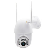 GUUDGO 8 LED 1080P Waterproof Wireless Camera Outdoor IP Camera Wireless Camera WiFi Pan/Tilt Night Vision