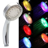 7 Colors Automatic Changing LED Shower Head Bathroom Shower Water Saving Spray
