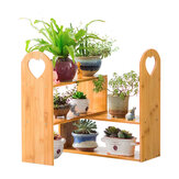 Flower Plant Pot Rack Stand Bookcase Shelf Corner Holder Kitchen Indoor