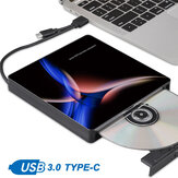 USB 3.0 Slim Externe CD DVD RW Writer Laufwerk Brenner Reader Player Für PC Laptop