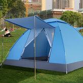 Для 4 человек 2 * 2 * 1,25 м Автоматическая установка Семья На открытом воздухе Кемпинг Палатка UV Доказательство палатки для лагеря Сверхлегкая
