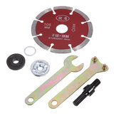 100mm Cutting Disc with 5pcs Flange Nuts Angle Grinder Accessories for Tile Cutting