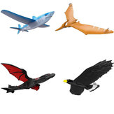 EPP Airplane 46cm Hand Launch Throwing Aircraft Inertial Foam Dragon Eagle Shark Plane Toy Model