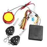 12V Motorcycle Anti Theft Alarm System Vibration Remote Control Security
