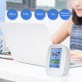 D9-B D9-H Digital Air Quality Tester Detector Indoor/Outdoor HCHO & TVOC Detector CO2 Meter Monitor Tester USB Charging
