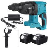 21V Brushless Electric Rotary Hammer Broca Cordless Broca Kit de Demolição W / None / 1/2 Bateria Para MAKITA
