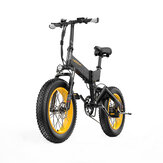 LANKELEISI X3000PLUS 10Ah 48V 1000W Folding Moped Electric Bicycle 20 Inches 46km/h Max Max Load 200kg