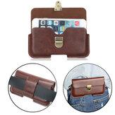 Cintura universal da bolsa da carteira de couro Bolsa Caso para o telefone De 5.1 a 6.3 polegadas