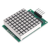 5pcs DM11A88 8x8 Square Matrix Red LED Dot Display Module for UNO MEGA2560 DUE Geekcreit - products that work with official boards