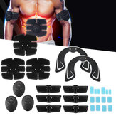 KALOAD 32PCS Arm Bauchmuskeltrainer Hip Trainer Body Beauty Stimulator