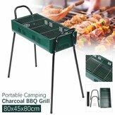 80x45x80cm Barbecue a carbonella portatile Barbecue Stufa in ferro Kebab Barbecue Patio campeggio