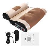 Double 8D Electric Massagem Travesseiro de corpo com travesseiro infravermelho aquecedor de pescoço e ombro traseiro Massagemr